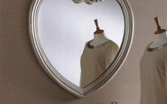 Heart Shaped Mirrors for Wall