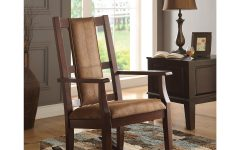 Newcombe Warm Brown Windsor Rocking Chairs