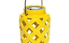 Yellow Outdoor Lanterns