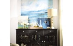 Black Sideboard Buffet