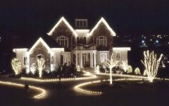 Outdoor Christmas Rope Lanterns