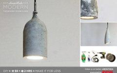 Homemade Pendant Lights