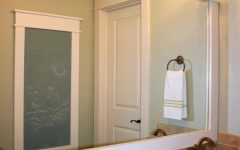 Framing Bathroom Wall Mirrors