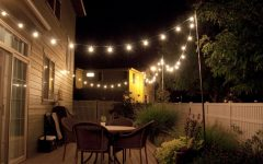 Hanging Outdoor Rope Lights