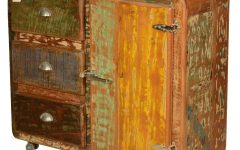 Reclaimed 3 Drawer Icebox Sideboards