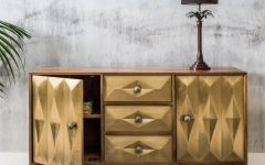 Gold Sideboards