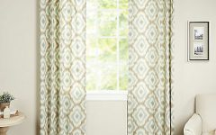 Ink Ivy Ankara Cotton Printed Single Curtain Panels