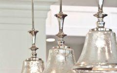 Mercury Glass Pendant Lighting