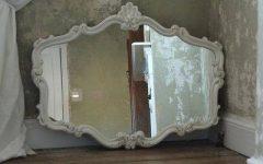 Ivory Ornate Mirrors