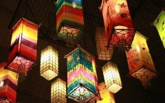 Outdoor Oriental Lanterns