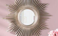 Josephson Starburst Glam Beveled Accent Wall Mirrors