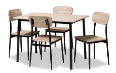 Wiggs 5 Piece Dining Sets