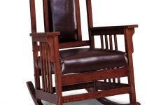 Luxury Mission Style Rocking Chairs