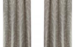 Woven Blackout Grommet Top Curtain Panel Pairs