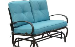 Rocking Glider Benches With Cushions