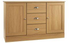 3-drawer/2-door Sideboards