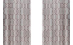 Kochi Linen Blend Window Grommet Top Curtain Panel Pairs