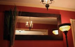 Large Brown Mirrors