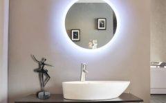 Illuminated Wall Mirrors for Bathroom