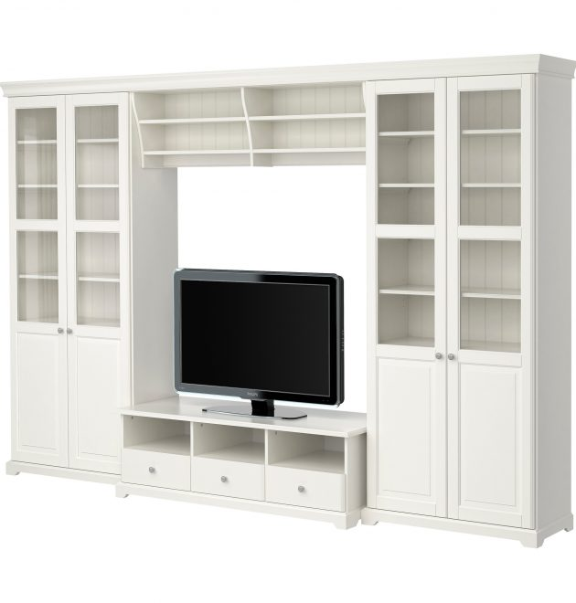 Bookcase With Tv Storage