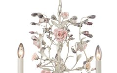 Small Shabby Chic Chandelier