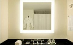 Lighted Wall Mirrors