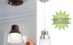 Battery Operated Hanging Lights