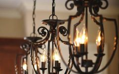 Wrought Iron Pendant Lights Australia