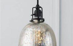 Mercury Glass Ceiling Lights