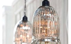 Mercury Glass Pendant Lights Fixtures