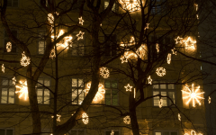 Outdoor Hanging Tree Lights