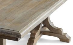 Belgian Gray Linden Extending Dining Tables