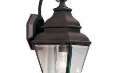 Chicopee Beveled Glass Outdoor Wall Lanterns