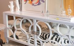 White Mirrored Sideboards