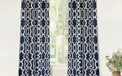 Edward Moroccan Pattern Room Darkening Curtain Panel Pairs