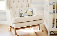 Wooden Baby Nursery Rocking Chairs