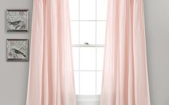 Lydia Ruffle Window Curtain Panel Pairs