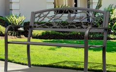 Madeline Vintage Bird Cast Iron Garden Benches
