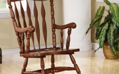 Madrone Windsor Country Style Rocking Chairs