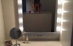 Light Up Wall Mirrors