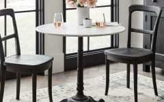 Rae Round Marble Bistro Tables