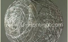 Wire Ball Pendant Lights