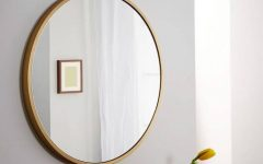 Round Metal Wall Mirrors