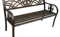 Michelle Metal Garden Benches