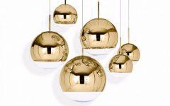 Tom Dixon Mirror Ball Pendants