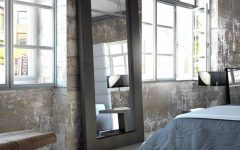 Large Black Framed Wall Mirrors