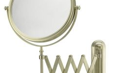 Extension Arm Wall Mirrors