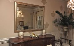 Mirror Over Sideboards