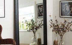 Black Floor Standing Mirrors