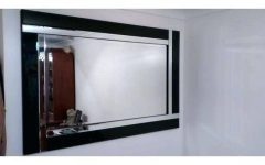 Contemporary Black Wall Mirrors